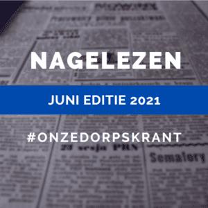 Nagelezen editie Juni 2021
